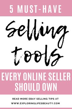 Must Have Selling Tools Every Online Seller Should Know