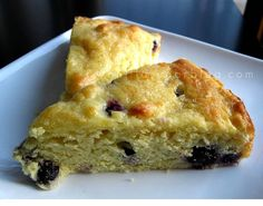 blueberry cake by Vanilla Sugar Blog, via Flickr