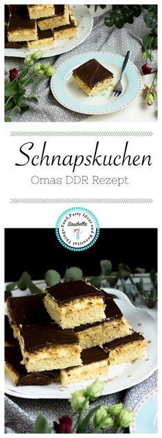 Schnapskuchen nach Omas Rezept - Sasibella
