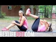 Lose Your LOVE HANDLES  MUFFIN TOP Workout : Work It Out Wednesday - BEXLIFE