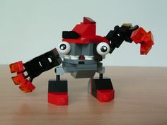 LEGO MIXELS VULK KRADER MURP  instructions video with Lego 41501 and Lego 41503 Mixels Serie 1