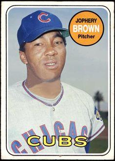 Glenn Beckert Chicago Cubs 1965 Style Custom Baseball Art Card Honkbal