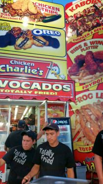 So many yummy foods at the OC Fair...which ones should you eat...See some options in my article here...
