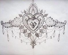 Sternum Tattoo Sternum tattoo. via beka brown