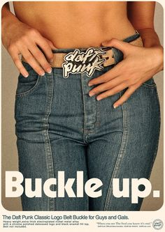 Daft Punk promotional poster