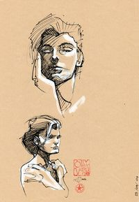 Nu n°6 - Original d'Olivier Vatine - COMIX-BURO