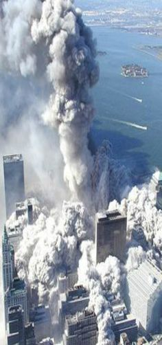 9/11 My stomach dropped as the buildings collapsed. I was sick and could not believe that they fell.
