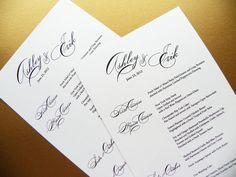 shimmery whitw card stock | Elegance Pearl Shimmer Wedding Menus - Reception Menu - Wedding Menu ...