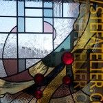 Stained glass Vitrail moderne pour une fenêtre