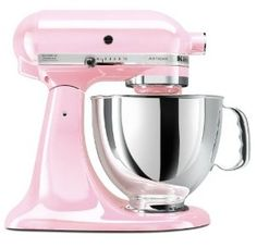Pink Kitchen appliances: Baby Pink Mixer