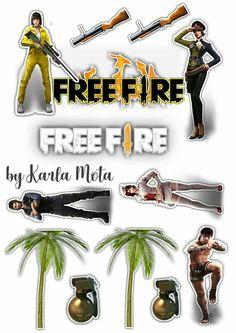 Topper De Bolo Free Fire Frefire Free Fire E Scrap