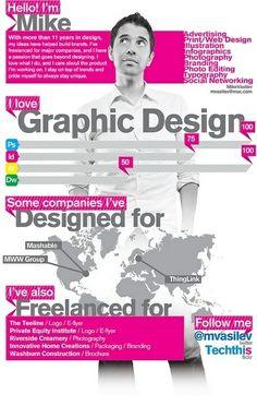 Mike Vasilev #visualCV #lavoro #resume #job
