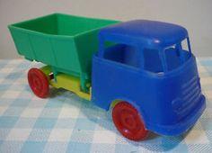 Old Trucks, The Past, Plastic, Memories, Retro, Toys, Car, Vintage, Nostalgia