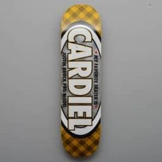 Real Skateboards Brock My Favorite Pro Skateboard Deck 8.25""