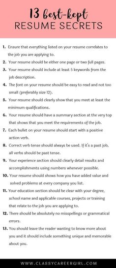 The Best Resume Ever How to Write It Job Advice Pinterest - The Best Resume Ever