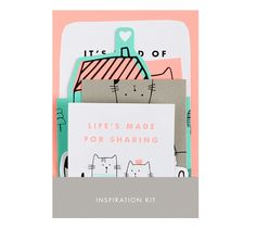 We believe in chasing your dreams, which is why we love using vision boards to help visualise our ideas. This Vision board kit is a great way to stay inspired and motivated in your work space or bedroom. Post the quotes alongside pictures and scribbles to remind yourself to keep doing what you love.