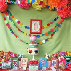Sesame Street Party & links to other great party themes