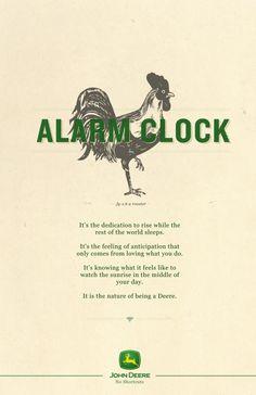 John Deere: No Shortcut, Rooster