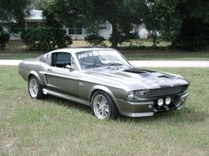 1967 Shelby Mustang, I'll take one in navy blue and white please!