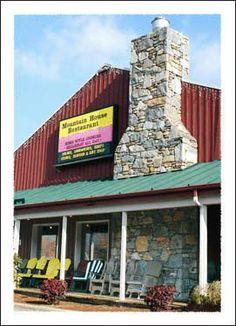 Mountain House Restaurant Boone, NC