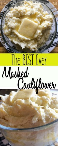 The BEST Ever Mashed Cauliflower - This Mom's Menu