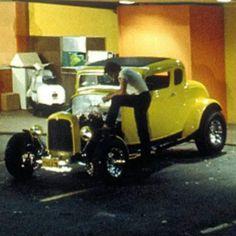 "American Graffiti ""The Fastest Hot Rod in The Valley"" Classic Hot Rod, Classic Cars, Carros Hot Rod, Vintage Cars, Antique Cars, Old Hot Rods, American Graffiti, Cars Usa, Vintage Bicycles"