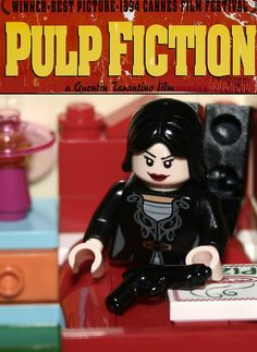 https://flic.kr/p/txztEn | Lego Pulp Fiction | Made By Yours Truly