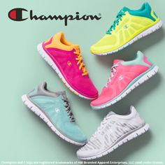89d42989559f13 I love these Champion athletics shoes in colorful choices. Comfortable and  sturdy.