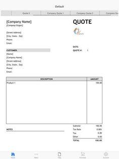 Invoices.com Prepossessing Invoice Suite  Create And Send Invoices Httpsitunes.appleus .