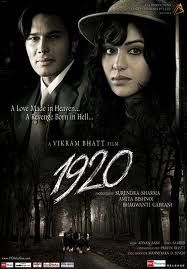 1920 (2008) After forsaking his family and religion, a husband finds his wife is demoniacally possessed. Rajneesh Duggal, Adah Sharma, Anjori Alagh...TS Horror