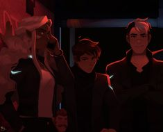 Wyd when you walk into this? Made a photo only post…Also…. 1) People are concerned where the heck Coran went… well go look for him. 2) To that one person who thought Lance is wearing a turtleneck. Oh,...