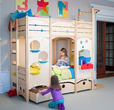 The bunkbed to end all bunkbeds.