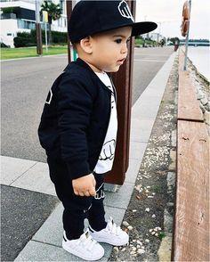 17 Ideas Fashion Kids Boy Link - Outfits for Kids - Kids Style Fashion Kids, Toddler Boy Fashion, Little Boy Fashion, Toddler Boys, Kids Girls, Swag Fashion, Toddler Boy Style, Toddler Swag, Fashion Top