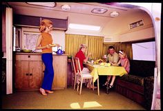Stunning Airstream Trailers Interiors For Renovation Ideas - Home and Camper Airstream Renovation, Airstream Interior, Trailer Interior, Campervan Interior, Vintage Airstream, Vintage Trailers, Vintage Campers, Airstream Land Yacht, Airstream Trailers