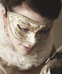The Tudors, Anne Boleyn, Renaissance masquerade ball. #Mask #Costume #Mardi_gras