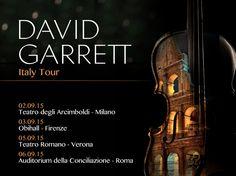 Mal posso esperar para começar a minha four-data turnê pela Itália amanhã em Milão!