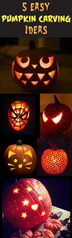 Stand out this Halloween with our '5 Easy Pumpkin Carving Ideas'.