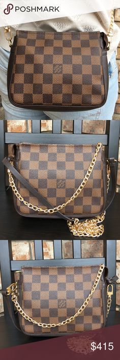 3885c1152622 Louis Vuitton pouch crossbody Authentic. Date code NO0998. Canvas in great  condition