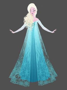 Frozen - Elsa's Ice Dress