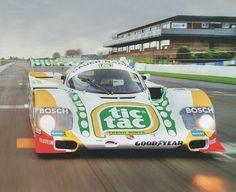 Porsche 962. Group C 1984.