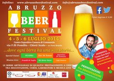 Abruzzo Beer Festival, al via la rassegna delle birre artigianali a Chieti Scalo | L'Abruzzo è servito | Quotidiano di ricette e notizie d'AbruzzoL'Abruzzo è servito | Quotidiano di ricette e notizie d'Abruzzo