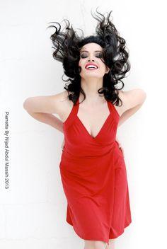 Lebanese Actress Pierrette Katrib