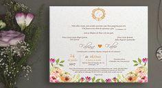 #convites #papelsemente #wedding #casamento #convitesdecasamento #noiva #casar #brasao #dourado #eco #plantar #floral #novidade #DIY #spazioconvites http://spazioconvites.com.br/