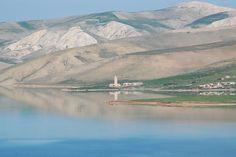 モロッコ, より, 水, 山, 風景, 自然
