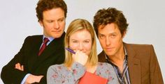 """Bridget Jones"" Cast : Colin Firth, Renee Zellweger and Hugh Grant Hugh Grant, Colin Firth, Bridget Jones Books, Bridget Jones Baby, Renee Zellweger, Patrick Dempsey, Chick Flicks, Love Movie, I Movie"