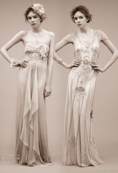 Art Deco Gown (right)