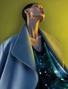 Jing Wang by Trunk Xu for Numéro China
