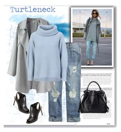 """""""Turtleneck & Jeans"""" by alpate ❤ liked on Polyvore"""