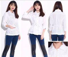 Fashionlicious - woman clothes: Ladies Tops - LOFT White Top