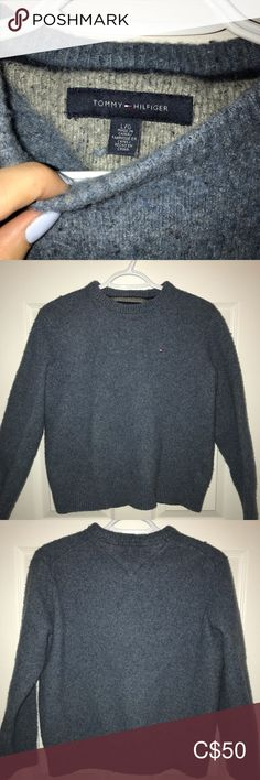 Says large but shrunk a little to about a small/medium fit. Very comfy and warm. Tommy Hilfiger Sweater, Plus Fashion, Fashion Tips, Fashion Trends, Wool Sweaters, Scoop Neck, Sweaters For Women, Comfy, Warm